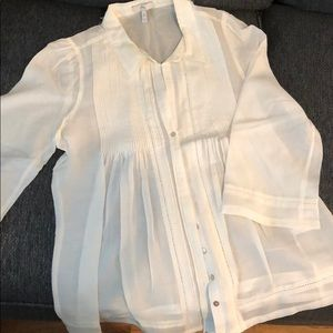 Joie ivory blouse